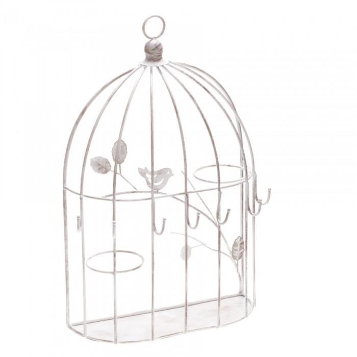 2 cages à suspendre blanches