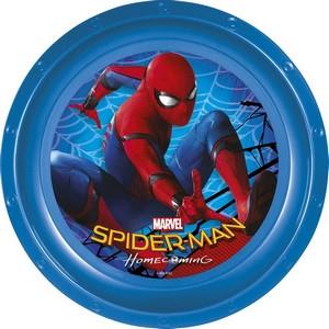 Assiette en plastique spiderman à prix discount