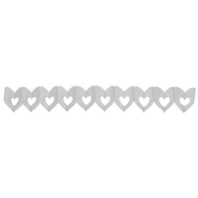 Guirlande en papier - coeur