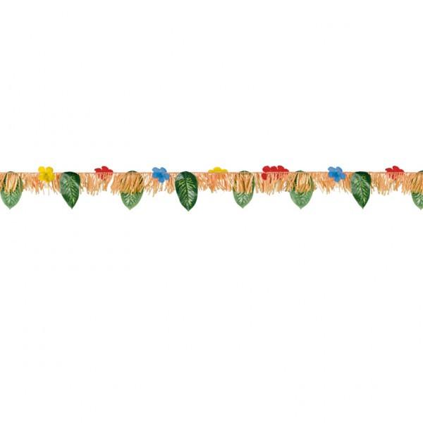 Guirlande Hibiscus et feuilles - 1,82 m