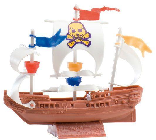Décor gâteau : bateau de pirate