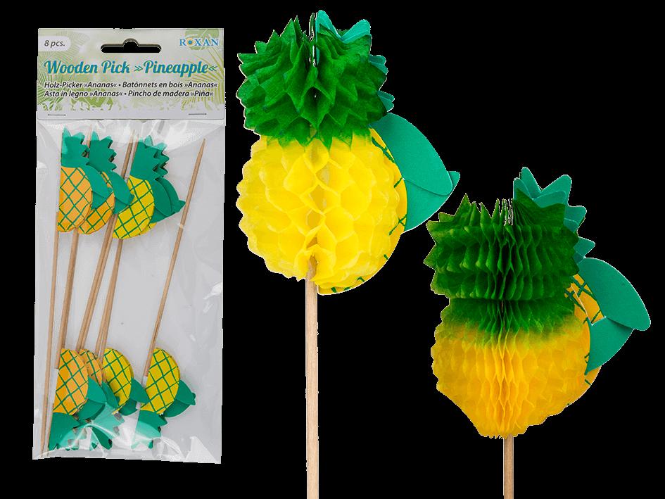 8 Piques ananas alvéolé