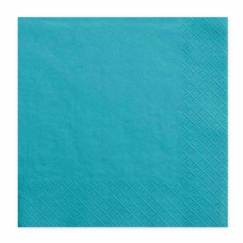 20-serviettes-papier-turquoise