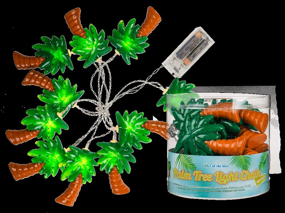 Guirlande lumineuse palmier - 1.65 m à prix discount