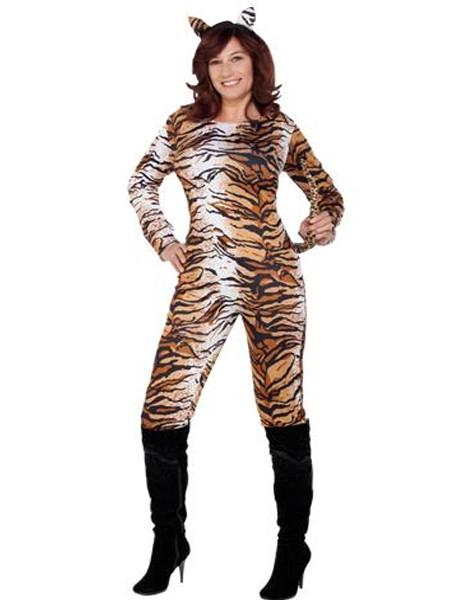 Déguisement femme tigresse - Taille L