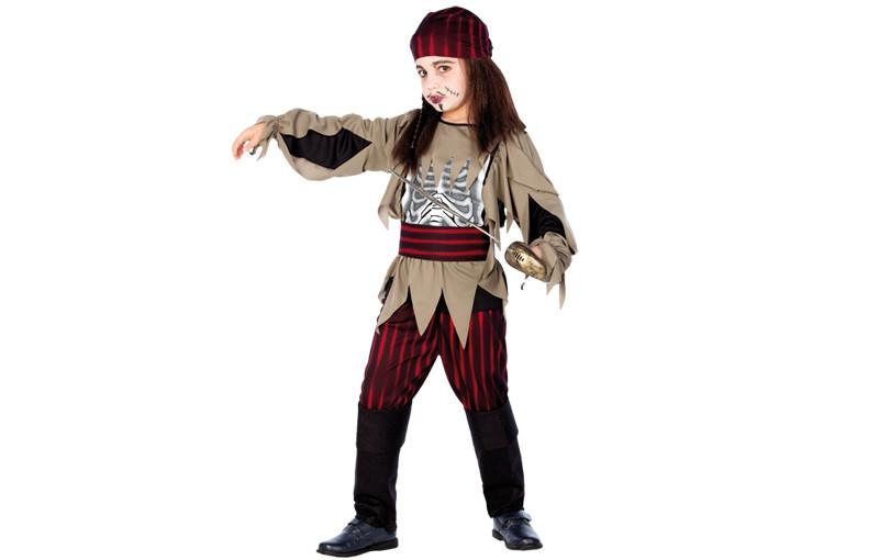 Costume enfant pirate squelette