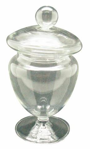 Mini bonbonnière confiseur sur pied 6,8 cm x 12,3 cm