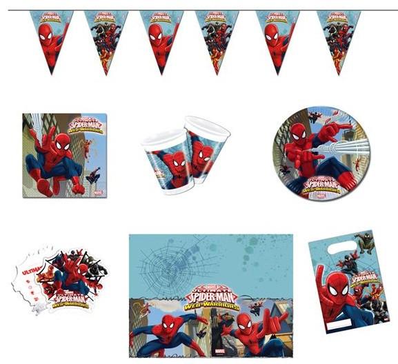Kit anniversaire Spiderman