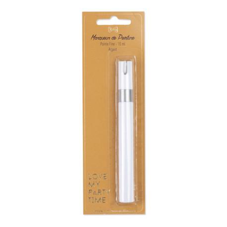 stylo-marqueur-argent