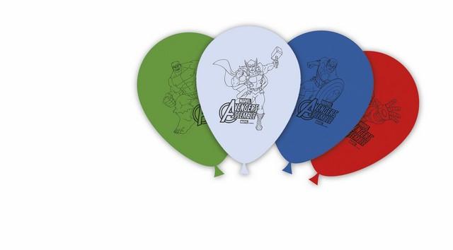 ballons latex avengers