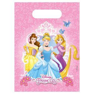 6 Sacs de fête Princesses Disney