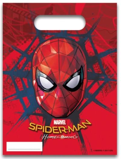 6 sacs de fête Spiderman Homecoming