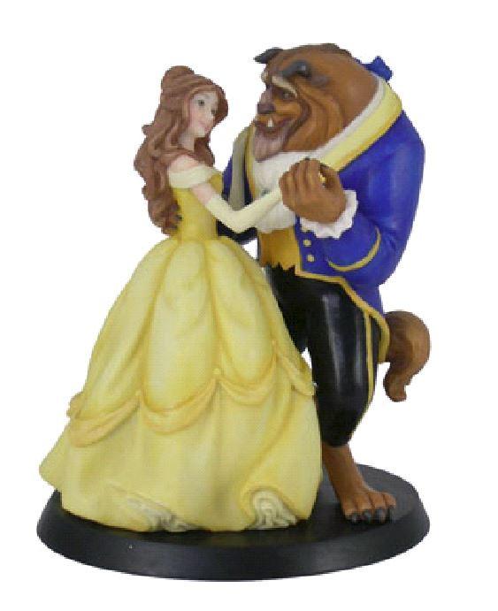figurine belle et la bete