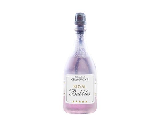 bulles savon bouteille champagne