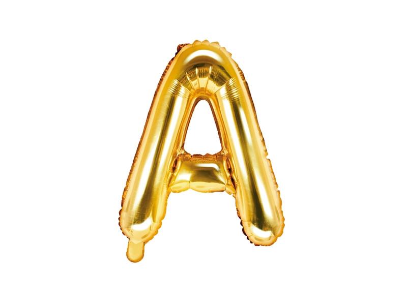 ballon lettre A or