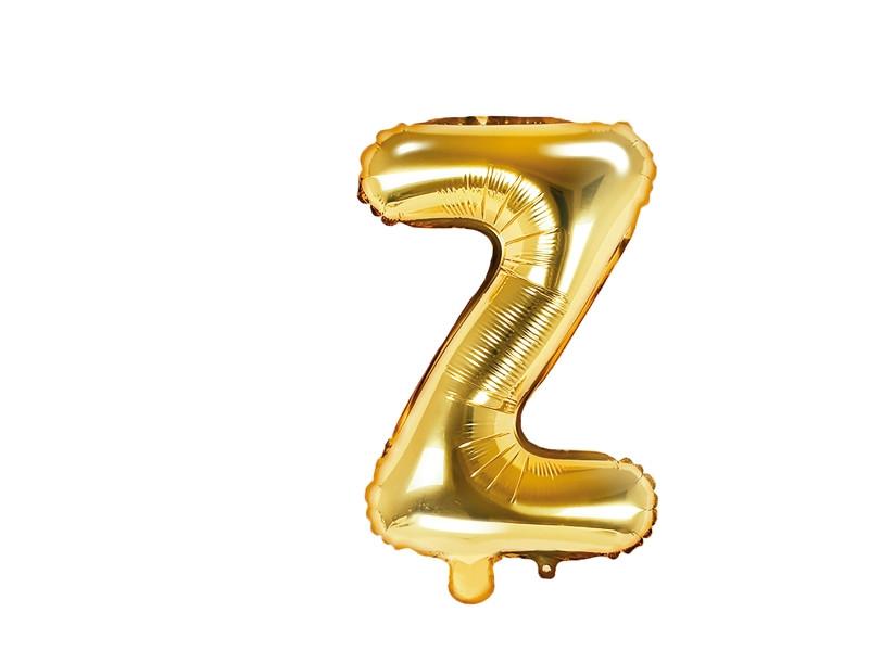 ballon lettre Z or