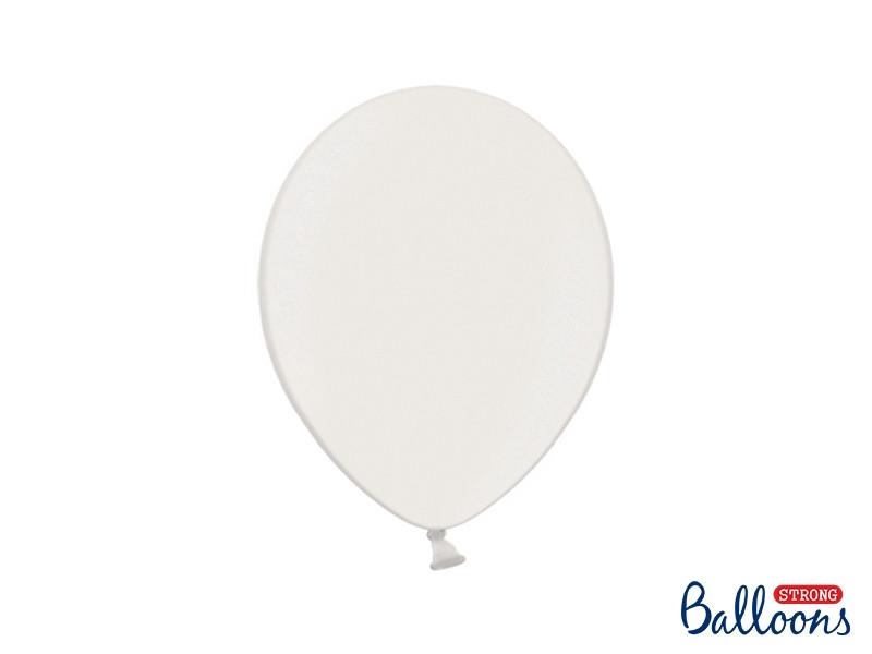 100 ballons 27 cm - blancs