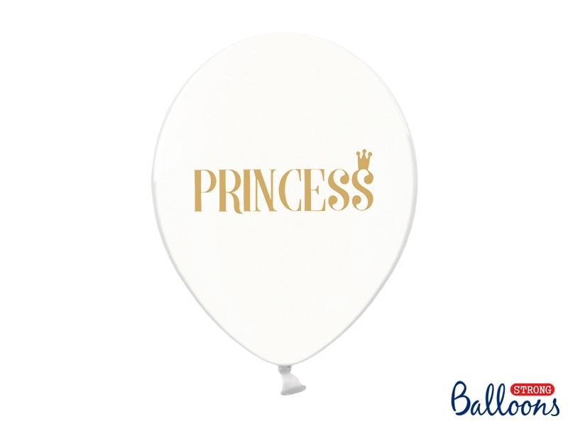 6 ballons princesse