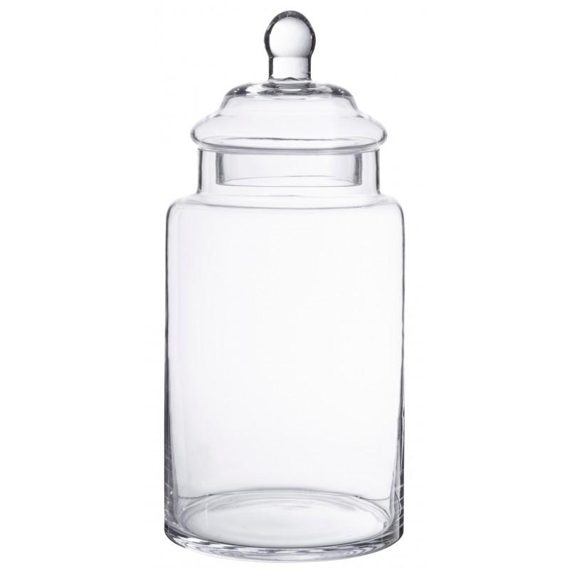 Bonbonniere verre droite 28.5 cm