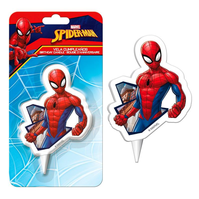 Bougie Spiderman 2D à prix discount