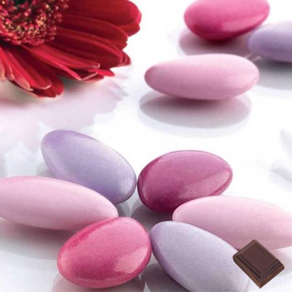 dragées chocolat variation rose