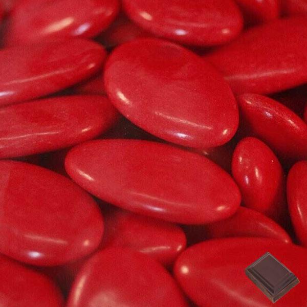 dragées-chocolat-rouge