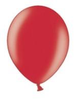 100 ballons rouges métalliques