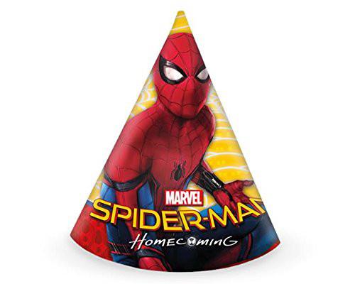 Chapeaux de fête Ultimate Spiderman - x6
