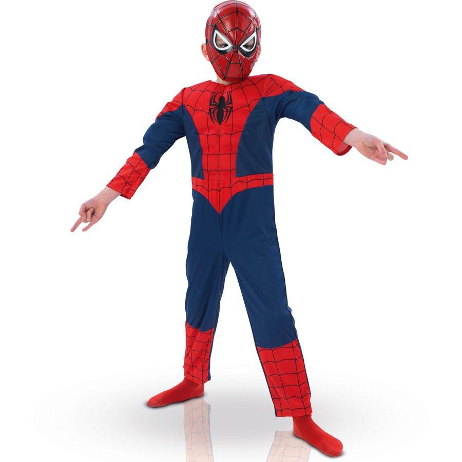 Déguisement garçon Spiderman Ultimate luxe