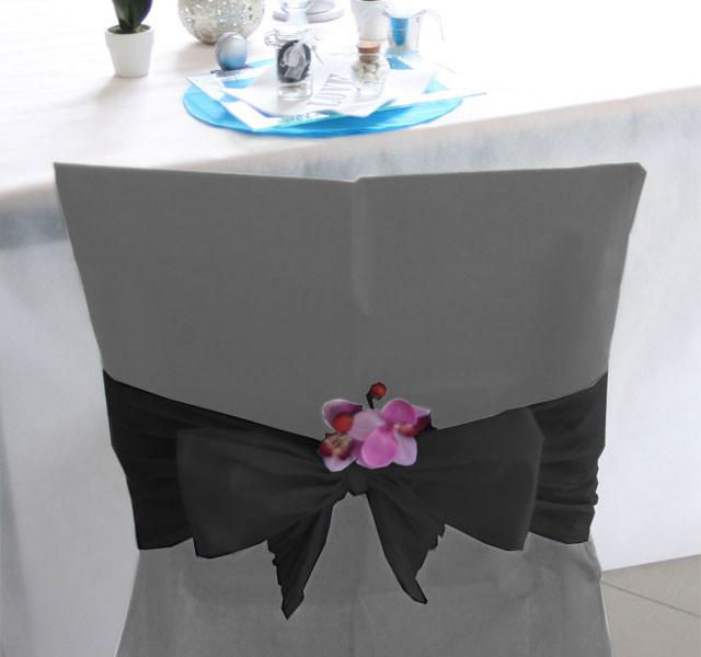 Housse de chaise noeud - Noeud pour chaise de mariage ...