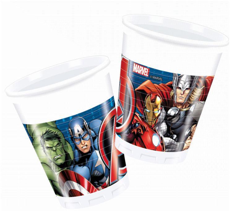 8 gobelets Avengers