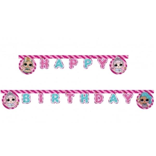 Guirlande anniversaire LOL surprise