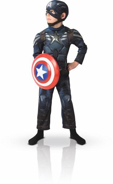 Panoplie garçon Captain America luxe - Taille 5-7 ans