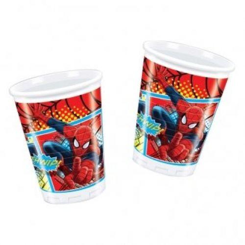8 gobelets ultimate spiderman