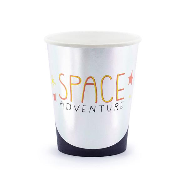 Gobelet en carton Space Avdenture