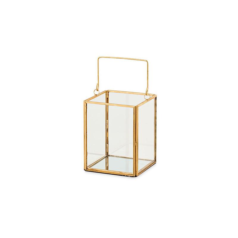 Lanterne terrarium 9 x 9 x 11 cm