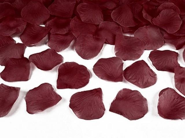 100 pétales de rose – bordeaux