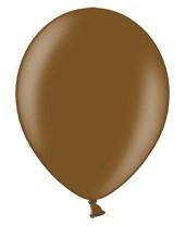 10 ballons 27 cm – chocolat métallisé
