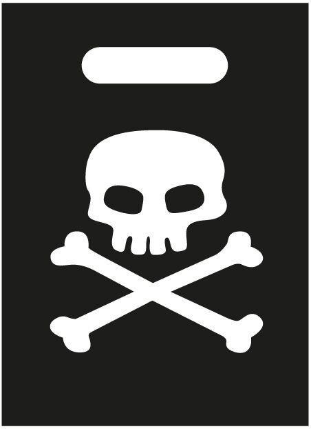 8 Sacs de fête pirate