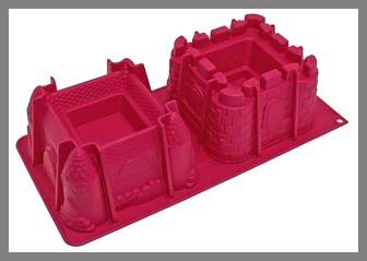 Moule en silicone - 2 châteaux