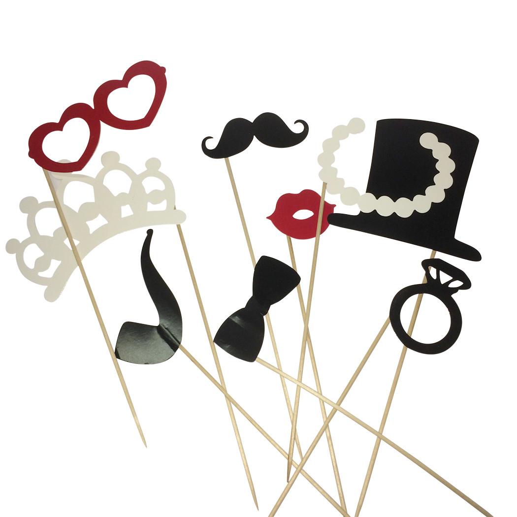 12 accessoires pour photobooth. Black Bedroom Furniture Sets. Home Design Ideas