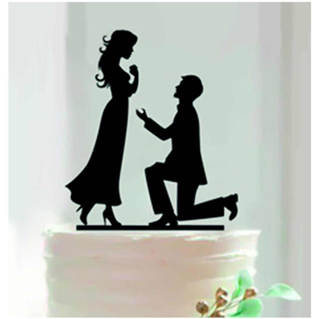 D coration g teau demande en mariage - Decoration gateau mariage ...