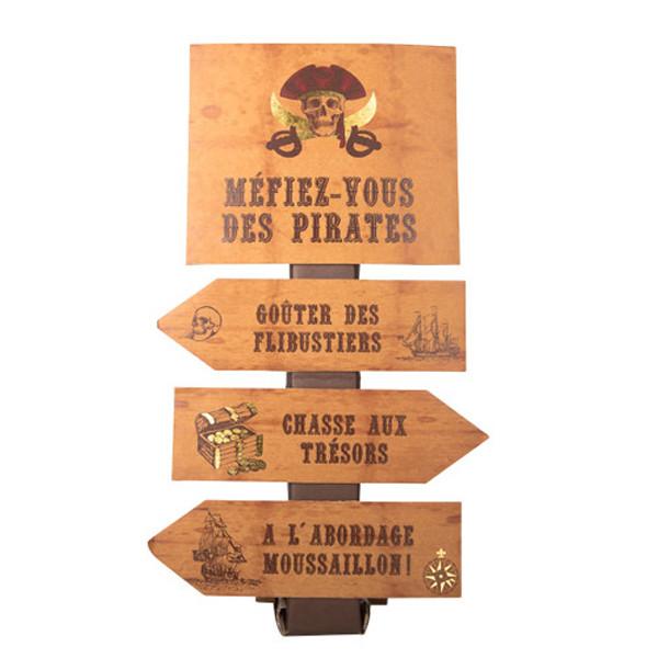 Panneaux pirate