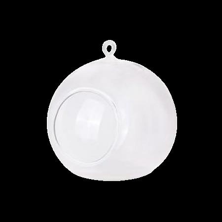 Photophore boule à suspendre - 10 cm