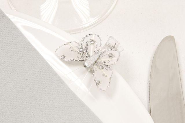 Papillon sur pince pas cher - Déco papillon original
