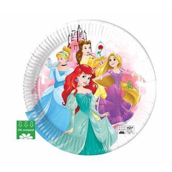Assiettes Princesses Disney compost