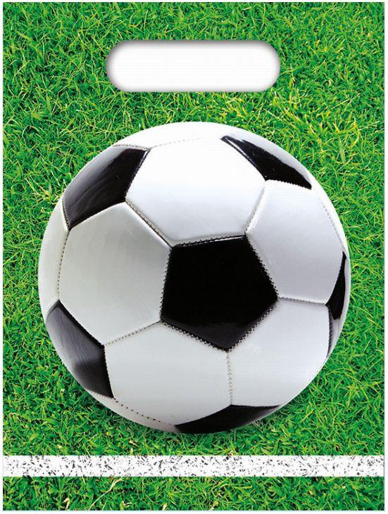 6 Sacs de fête Football party