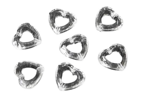 Sachet de 20 cœurs ajourés