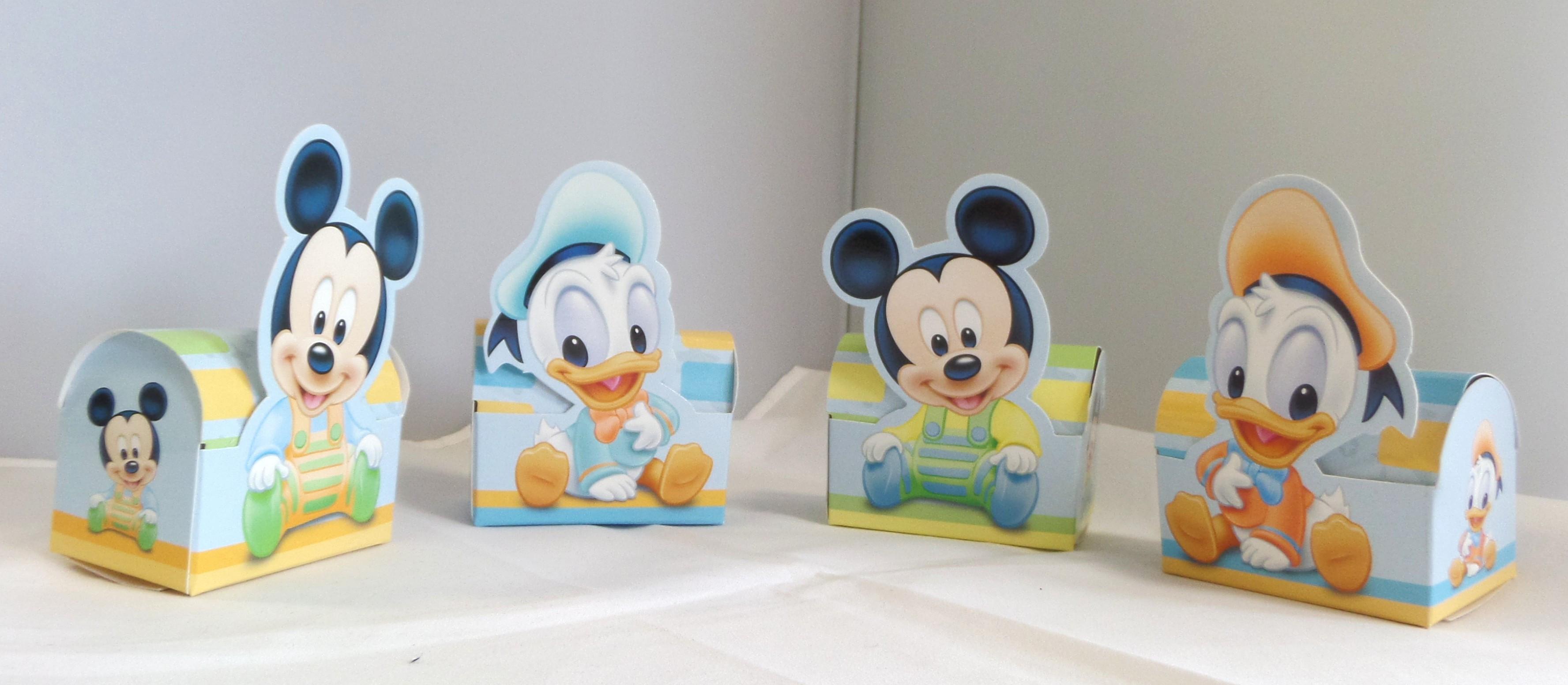 10 boites drag es mickey et donald baby dimensions mont es environ 7 x 10 x 4 cm prix bas - Decoration bapteme theme mickey ...