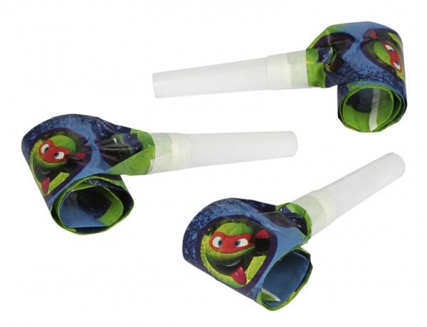 Lot 6 sans-gênes anniversaire Tortues Ninja